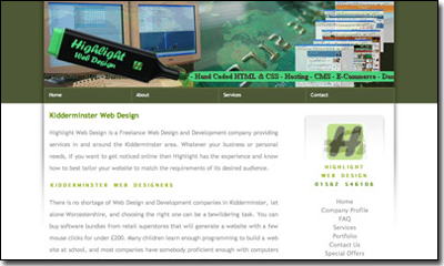Highlight Website 2006
